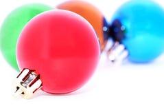 Decoraciones de la Navidad. Foto de archivo libre de regalías