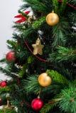 Decoraciones de la Navidad imagen de archivo libre de regalías