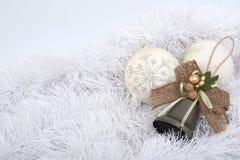 Decoraciones de la Navidad Fotos de archivo libres de regalías