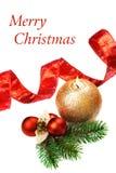Decoraciones de la Navidad, aún vida. Foto de archivo libre de regalías