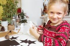 Decoraciones de la Navidad de la creación imagen de archivo