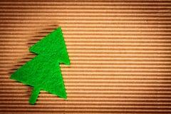 Decoraciones de la Navidad del fieltro Foto de archivo libre de regalías