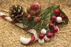 Decoraciones de la Navidad del país Fotografía de archivo libre de regalías