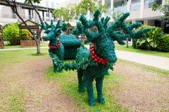 Decoraciones de la Navidad del reno Imagen de archivo
