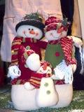 Decoraciones de la Navidad en la ciudad de Nerja España Imagen de archivo