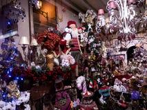 Decoraciones de la Navidad en la ciudad de Nerja España Fotografía de archivo