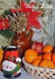 Decoraciones de la Navidad - tradiciones de la Navidad Fotos de archivo