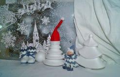 Decoraciones de la Navidad - tradiciones de la Navidad Imágenes de archivo libres de regalías