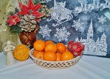 Decoraciones de la Navidad - tradiciones de la Navidad Fotografía de archivo