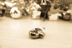 Decoraciones de la Navidad y del Año Nuevo Imagenes de archivo