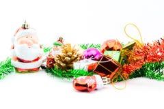 Decoraciones de la Navidad y del Año Nuevo Fotografía de archivo