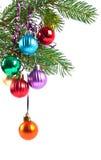 Decoraciones de la Navidad y del nuevo-año Imagen de archivo libre de regalías