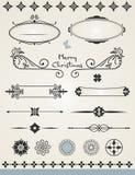Decoraciones de la página Imagen de archivo libre de regalías