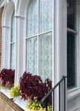 Decoraciones de la ventana Foto de archivo