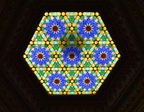 Decoraciones de los vidrios Fotografía de archivo