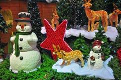 Decoraciones de Navidad Fotos de archivo libres de regalías