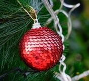 Decoraciones de Navidad Fotografía de archivo libre de regalías