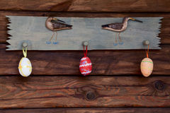Decoraciones de Pascua Fotos de archivo libres de regalías