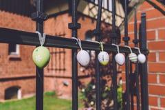 Decoraciones de Pascua en Potsdam imagen de archivo