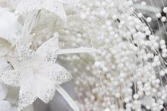 Decoraciones de plata caseras Imagen de archivo libre de regalías