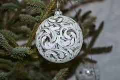 Decoraciones del árbol de navidad Fotografía de archivo libre de regalías