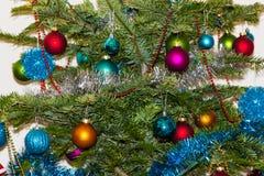 Decoraciones del árbol de navidad 2015 Años Nuevos Fotos de archivo libres de regalías