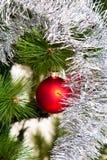 Decoraciones del árbol de navidad 2016 Años Nuevos Foto de archivo