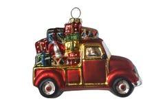 Decoraciones del árbol de navidad del Año Nuevo Fotografía de archivo libre de regalías