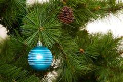 Decoraciones del árbol de navidad 2016 Felices Año Nuevo Fotografía de archivo