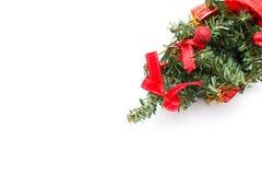 Decoraciones del árbol de navidad y de la Navidad Fotos de archivo libres de regalías