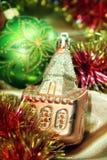 Decoraciones del Año Nuevo Fotografía de archivo