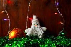 Decoraciones del Año Nuevo Imágenes de archivo libres de regalías