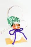 Decoraciones del Año Nuevo de Japón Imagen de archivo