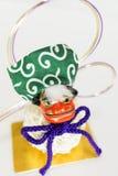 Decoraciones del Año Nuevo de Japón Fotos de archivo