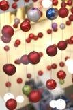 Decoraciones del Año Nuevo de la bola Foto de archivo
