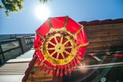 Decoraciones del estilo de los lomos Foto de archivo libre de regalías