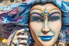 Decoraciones del flotador del carnaval Imagen de archivo
