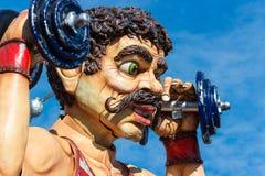 Decoraciones del flotador del carnaval Imágenes de archivo libres de regalías