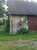 Decoraciones del jardín Imagen de archivo libre de regalías
