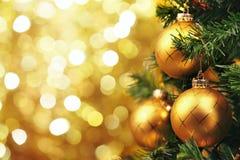 decoraciones del Navidad-árbol Fotografía de archivo