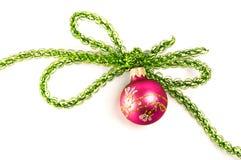 decoraciones del Navidad-árbol Foto de archivo libre de regalías