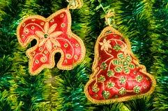 decoraciones del Navidad-árbol Foto de archivo