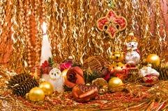 decoraciones del Navidad-árbol Fotos de archivo libres de regalías