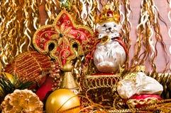 decoraciones del Navidad-árbol Imagenes de archivo