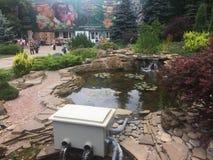 Decoraciones del parque del parque zoológico de Kharkov imagenes de archivo