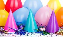 Decoraciones del partido Imagen de archivo libre de regalías