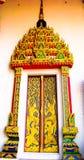 Decoraciones del templo Imagenes de archivo