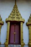 Decoraciones del templo Fotografía de archivo libre de regalías