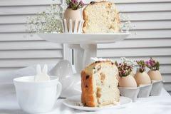 Decoraciones e invitaciones de Pascua Foto de archivo