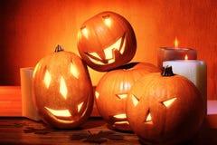 Decoraciones elegantes de Halloween Imágenes de archivo libres de regalías